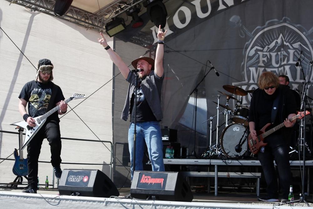 Razor Punch @ Full Metal Mountain Festival